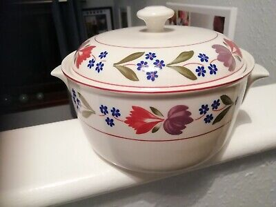 Vintage Adams Old Colonial Micratex Cookware Casserole Dish • 10£
