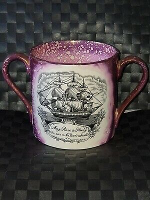 Lustre Large Loving Cup The Sailors • 0.99£