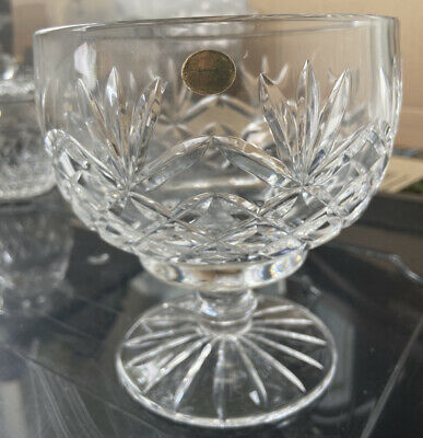 Tyrone Crystal Round Stemmed Bowl • 10£