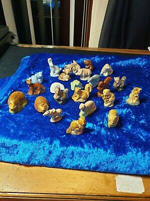 Collection Of 23 Wade Whimsies Wild/ Nature/woodland Animals/creatures  • 25£