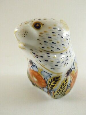 Royal Crown Derby Paperweight Poppy Mouse In Original Box Ref 449/5 • 1.20£