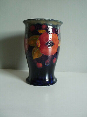 William Moorcroft Vase- Pomegranate Pattern,  C. 1905 • 0.99£