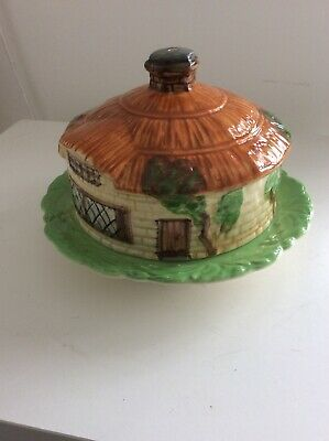 Beswick Cottage Ware Cheese Dish With Lid • 25£
