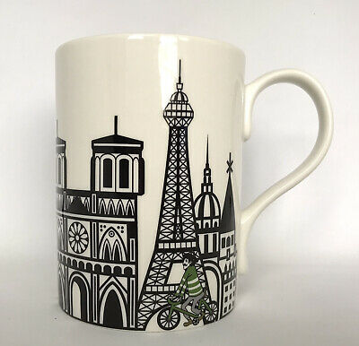 Portmeirion Cityscapes Paris Brand New Mug Cup Coffee Tea Never Used Excellent • 5£