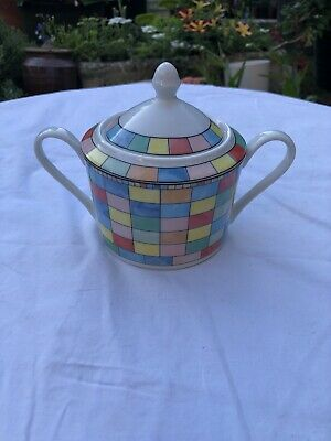 Ttc Top Choice Mardi Gras Lidded Sugar Bowl • 9.99£