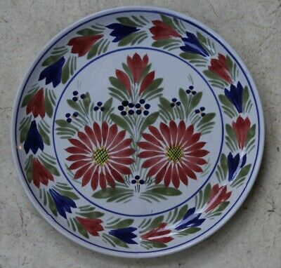 Beautifully Decorated H B Quimper Faience Plate • 16.30£