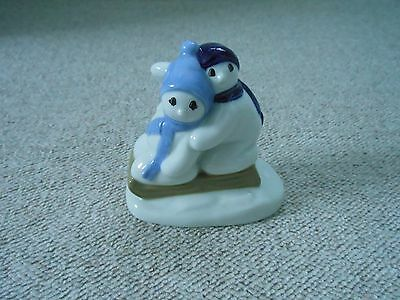 Wade Pottery Christmas Snow Children Figure 1996 • 19.99£