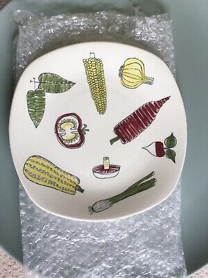 Vintage Midwinter Stylecraft Terence Conran Salad Ware Plate Fabulous Design   • 10£