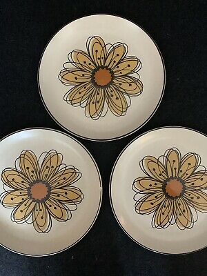MIDWINTER STONEHENGE FLOWER SONG  SIDE PLATES X 4 • 5£