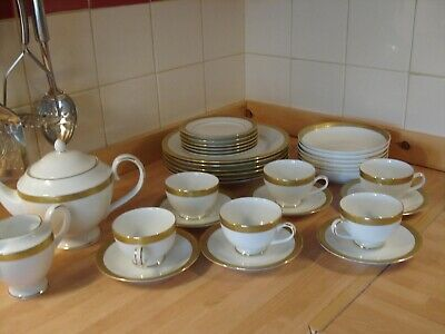 Dinner Service Teaservice Fine China Imperial Gold • 55£