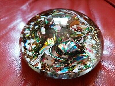 Isle Of Wight Super Magnum Paperweight Signed & Dated With Box • 75£