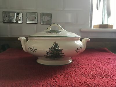 Spode Christmas Tree Vegetable Tureen • 62£