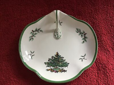 Spode Christmas Tree Handled Serving Tray • 16.09£