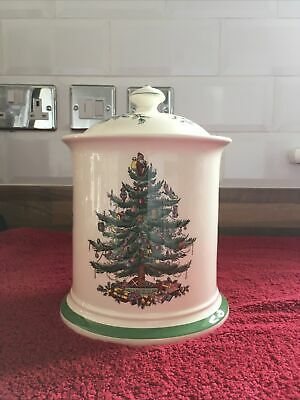 Spode Christmas Tree Biscuit Jar  • 15£