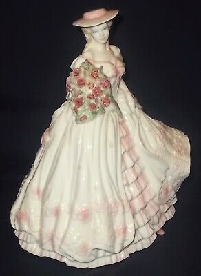 Coalport 'THE FOUR FLOWERS' - ROSE Limited Edition Figure By Jack Glynn • 74£