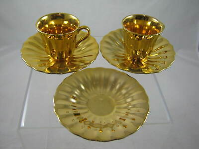 Wade  Royal Victoria  Cup And Saucer X 2 Plus Extra Saucer • 15£