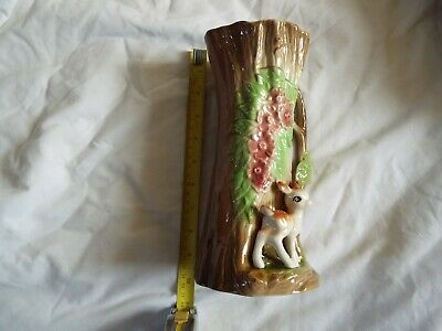 Withernsea Eastgate Fauna Pottery 23 Cm VASE  • 19.99£
