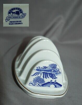 Wade For Ringtons Willow Pattern Toast Rack • 3.99£