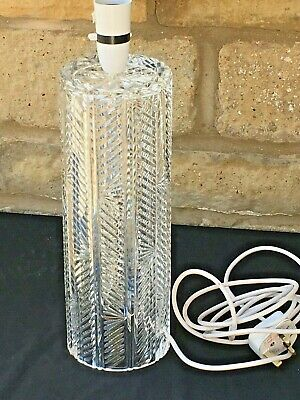 WATERFORD CRYSTAL Table Lamp • 125£