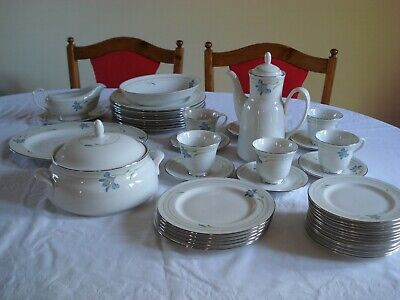 1985 Royal Doulton Rhapsody (TC1165) English Porcelain Dinner/tea Service. • 47£