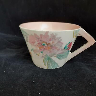 A J Wilkinson CLARICE CLIFF 'Peony' CUP • 23£