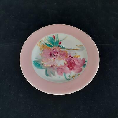 A J Wilkinson CLARICE CLIFF 'Peony' Biscuit PLATE • 23£