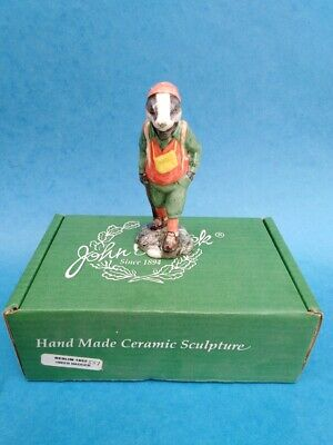 Beswick English Country Folk  Hiker Badger Limited Edition ECF 9 Sinclairs • 18£