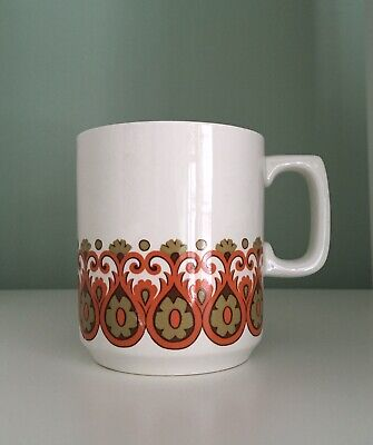 J&G Meakin Rare MUG 'Madrid' Pattern In Well Loved Vintage Condition • 6.50£