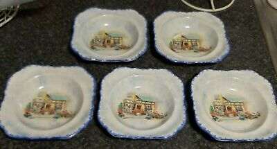 5 X Vintage Dishes L & Sons Hanley  The Posy Shop   • 3£