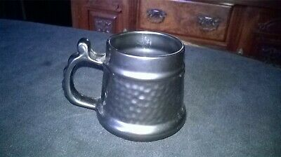 VINTAGE `PRINKNASH` TANKARD APPROXIMATELY 3 1/2 Ins. TALL. BLACK LUSTRE FINISH • 7£