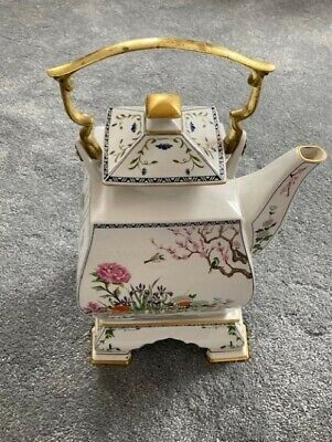Franklin Mint Porcelain Birds And Flowers Of The Orient Teapot Delivery Service • 7.99£