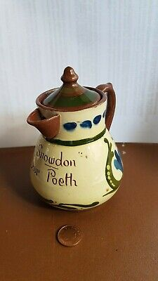 Torquay Longpark Ware Small Coffee Pot. Snowden Dwr Poeth • 14£