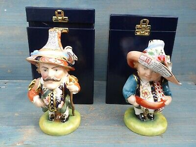 Boxed Royal Crown Derby Mansion Dwarfs Limited Edition Conditon Perfect No 56 • 695£