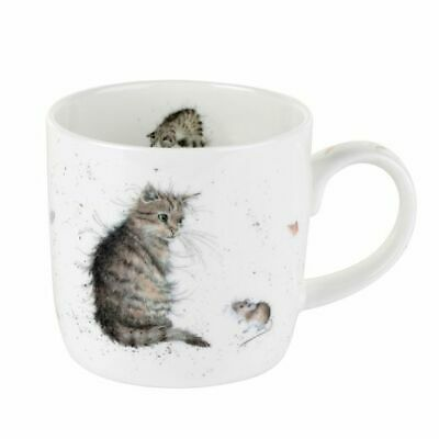 Wrendale Designs Mug - Cat - Cat And Mouse • 11.99£