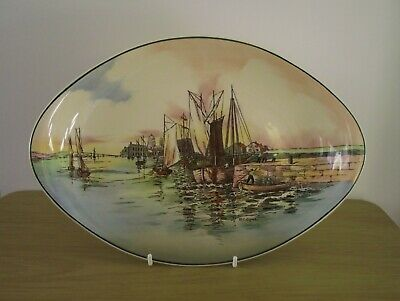 A Royal Doulton Seriesware Plate Called Home Waters • 10.50£