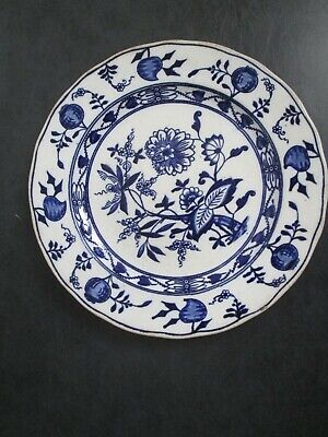 Antique Blue & White Wedgwood 'Onion', Dinner Plate • 20£