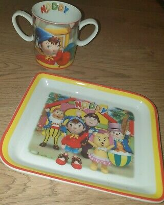 Royal Worcester 2006 Noddy Plate And Mug Set Collectable China VGC • 14.99£