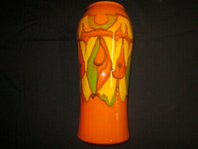 Large Poole Delphis Vase - Shape No 93 By Cynthia Bennett • 49.99£