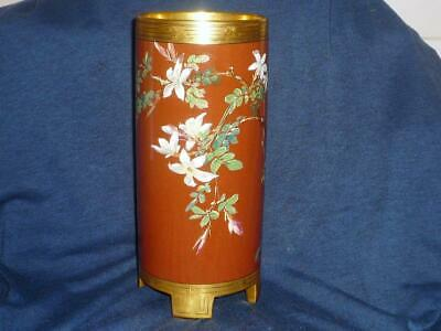 A Fine Mintons Vase Signed By William Mussill C1876 • 10£
