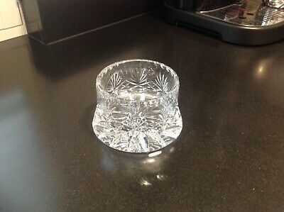 Crystal Wine Bottle Holder In Beautiful Condition • 7.50£