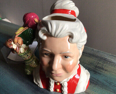 Royal Doulton Mrs Claus D7242 Rare Large Character Jug Limited Edition Of 500 • 150£