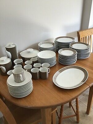 Thomas Germany China Dinner Set 1960's Design, Used, good Condition • 200£