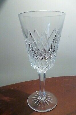 Vintage Tyrone Crystal  SPERRINS  Pattern Wine Glass - 16.4cms (6-1/2 ) Tall • 19.99£
