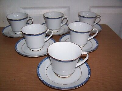 6 Boots Blenheim Teacups And Saucers Fine China • 22£