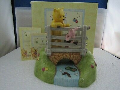 Rare Pooh Sticks Tableau Collectables Limited Edition Wp 84 Disney Royal Doulton • 99£
