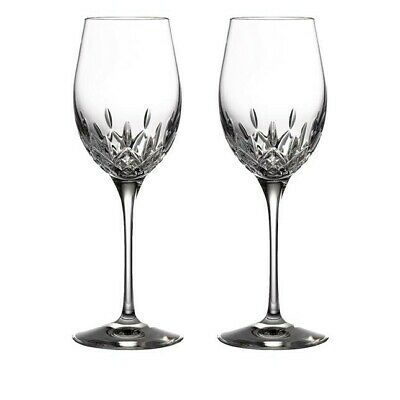 Lismore Essence White Wine Glass, Set Of 2  • 115£