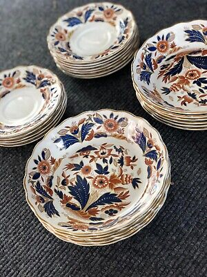Collection Of Booths Dovedale Bowls And Saucers • 40£
