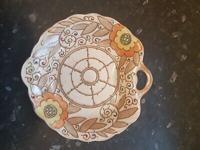 Charlotte Rhead Charger.art Deco. Nice Condition For Age. Tubelined. • 35£