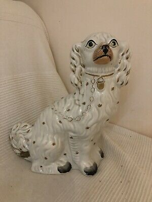 Vintage Staffordshire Style King Charles Fireside Dog • 4.99£