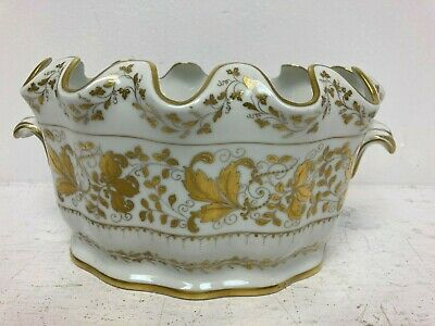 French White And Gold Decorative Porcelain Bowl B19 • 29£